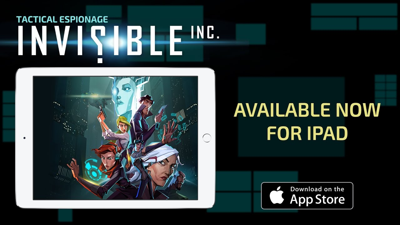 Стелс-экшен Invisible, Inc. портировали на iPad